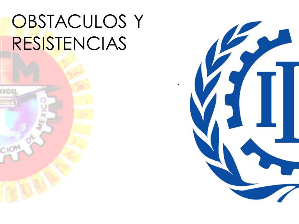 . OBSTACULOS Y RESISTENCIAS
