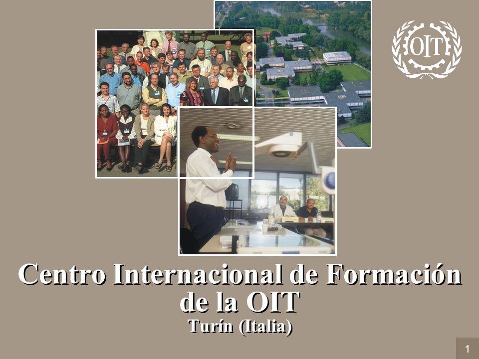 Centro Internacional de Formación de la OIT Turín (Italia) 1