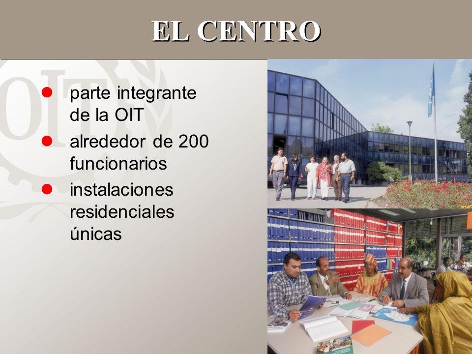 2 EL CENTRO lparte integrante de la OIT lalrededor de 200 funcionarios linstalaciones residenciales únicas
