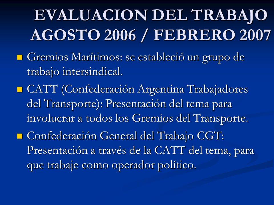 PODER EJECUTIVO NACIONAL REUNIONES TRIPARTITAS EN EL MINISTERIO DE TRABAJO DONDE PARTICIPARON TODOS LOS GREMIOS DEL SECTOR.
