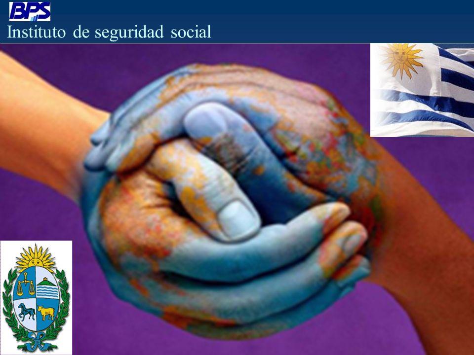 Instituto de seguridad social MÁYOR REGULACIÓN Y CONTROL ART.