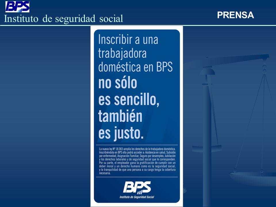 Instituto de seguridad social PRENSA