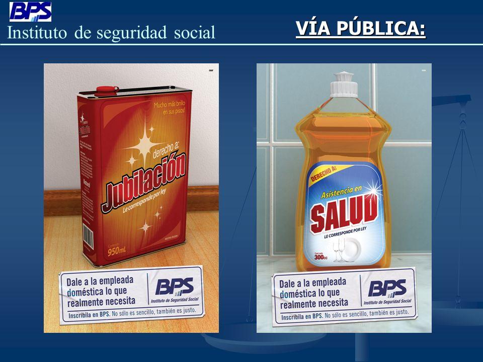 Instituto de seguridad social VÍA PÚBLICA: