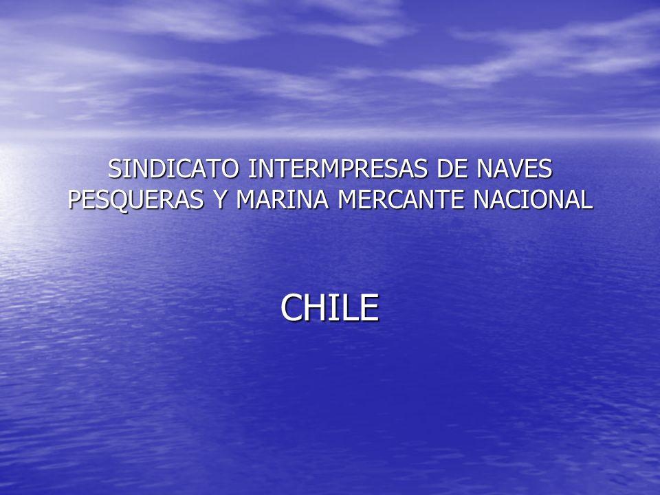 SINDICATO INTERMPRESAS DE NAVES PESQUERAS Y MARINA MERCANTE NACIONAL CHILE