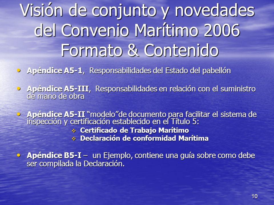10 Apéndice A5-1, Responsabilidades del Estado del pabellón Apéndice A5-1, Responsabilidades del Estado del pabellón Apéndice A5-III, Responsabilidade