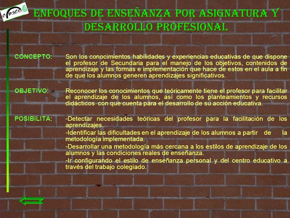 CONCEPTO:Medio por el cual se pretende dar respuesta a la información, valoración y actuaciones realizadas por un alumno en torno al currículo a través del proceso del mismo.