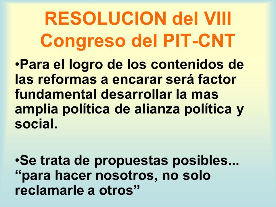 SEGURIDAD SOCIAL: LINEAS ESTRATEGICAS 2004 COMISION DE SEGURIDAD SOCIAL DEL PIT-CNT Y EQUIPO DE REPRESENTACION DE LOS TRABAJADORES - 13/02/2004