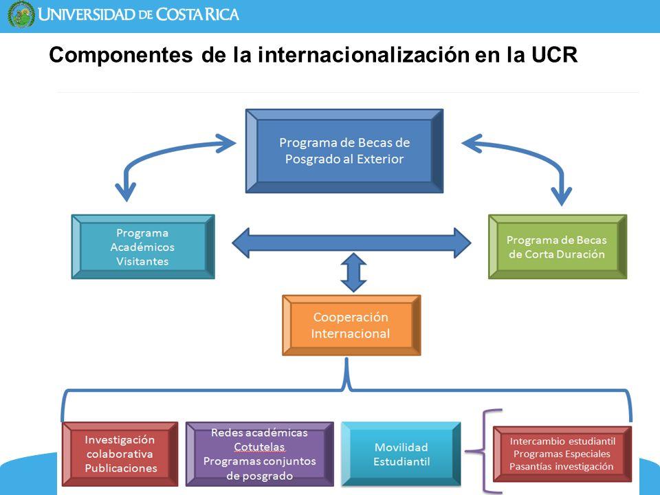 7 Componentes de la internacionalización en la UCR