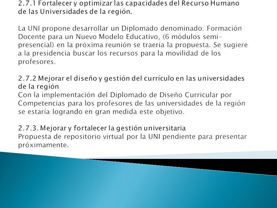 METAS CONCRETAS PARA UNA GESTIÓN DE CALIDAD E INNOVACIÓN EDUCATIVA EN LA REGIÓN CENTROAMERICANA