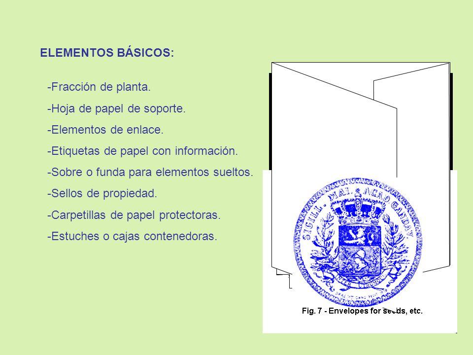 MEDIDAS BÁSICAS DE CONSERVACIÓN: DOCUMENTACIÓN: 1.Protegerla en estuches adecuados.