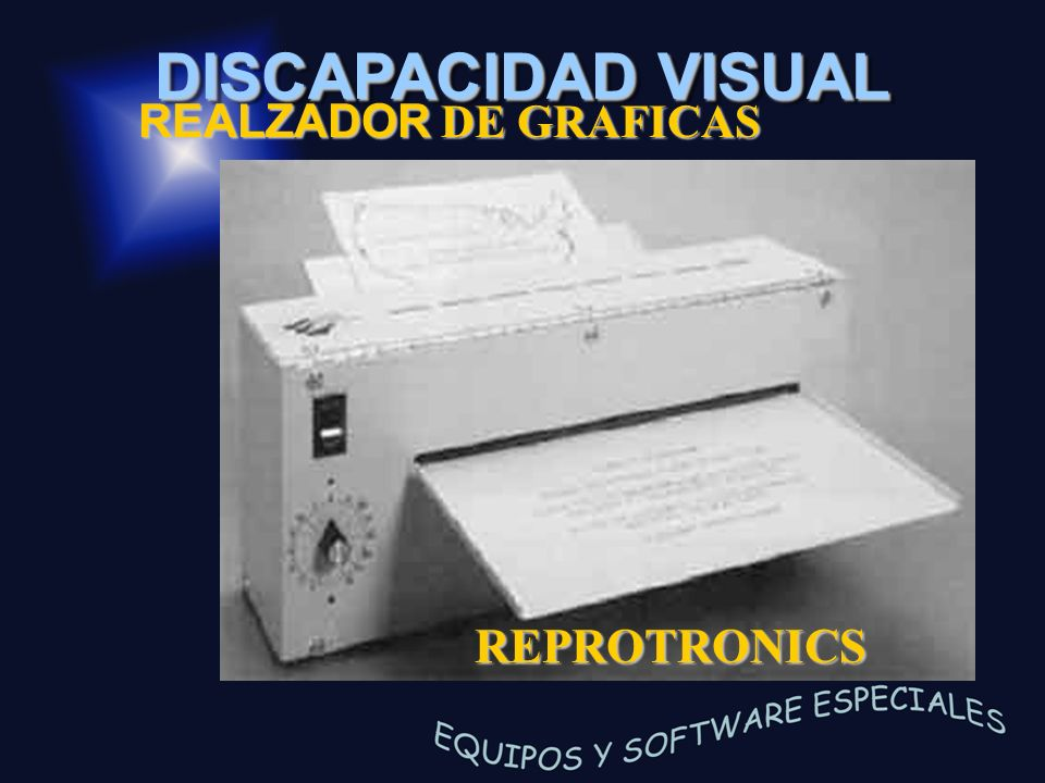BASIC IMPRESORA BRAILLE REALZADOR DE GRAFICAS REPROTRONICS