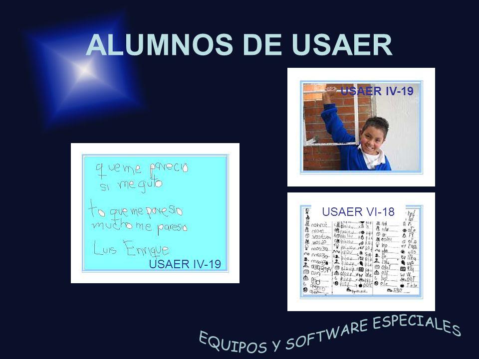 ALUMNOS DE USAER USAER VI-18 USAER IV-19