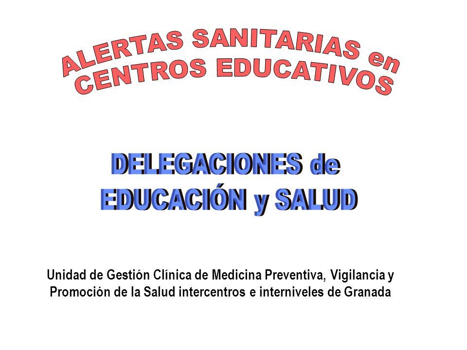 Unidad de Gestión Clínica de Medicina Preventiva, Vigilancia y Promoción de la Salud intercentros e interniveles de Granada