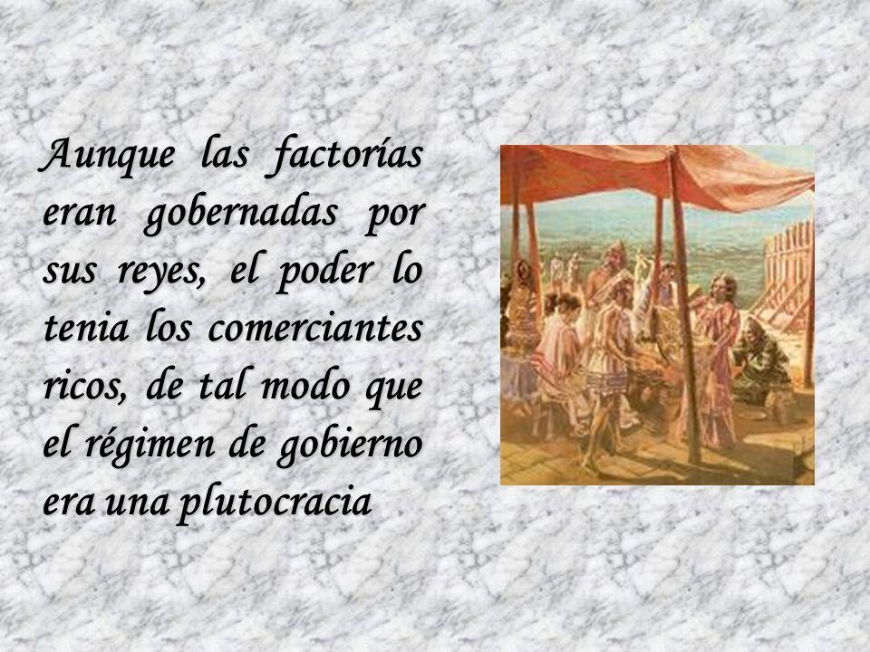 Dedicada entonces su vida al comercio, los fenicios fundaron ciudades que se convirtieron en principales centros de una extensa red de colonias y fact