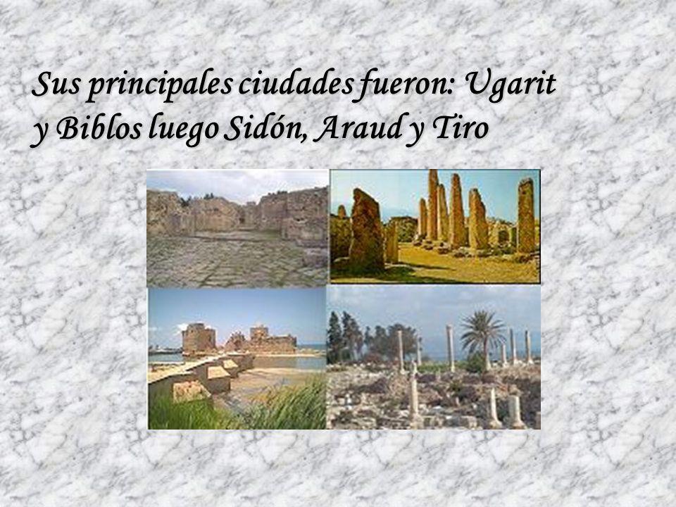 Durante mucho tiempo los fenicios fueron sometidos por sus poderosos vecinos, Babilonia y Egipto