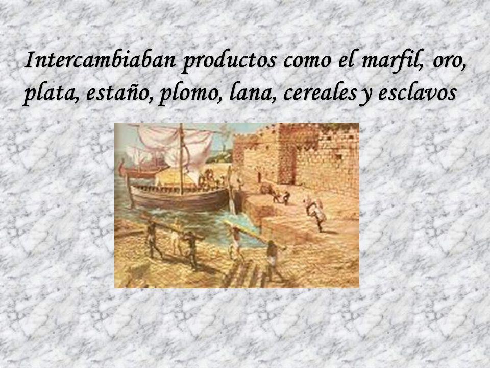 Después se dedicaron al comercio, intercambiando productos con los pueblos vecinos