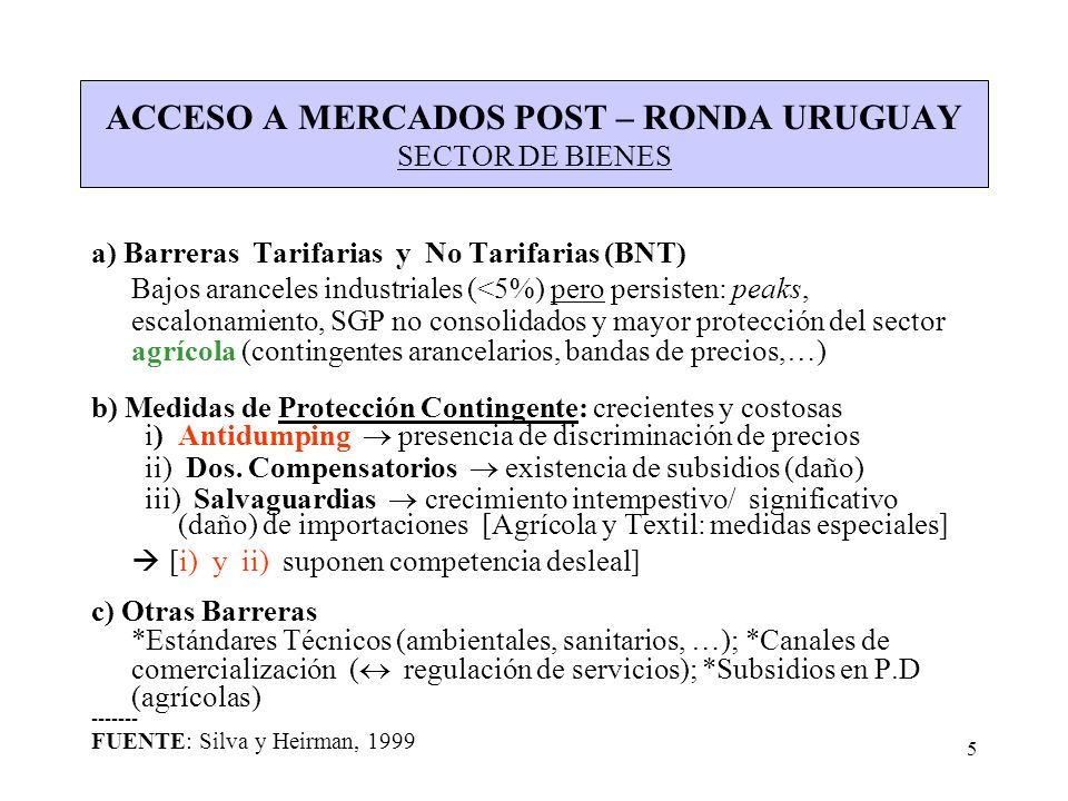 6 SUBSIDIOS (Y MEDIDAS COMPENSATORIAS) RELATIVOS A PRODUCTOS INDUSTRIALES: Concepto OMC: contribución financiera del gobierno/org.