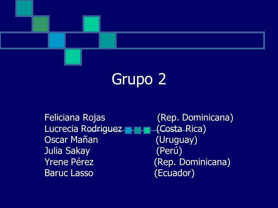 Grupo 2 Feliciana Rojas (Rep.