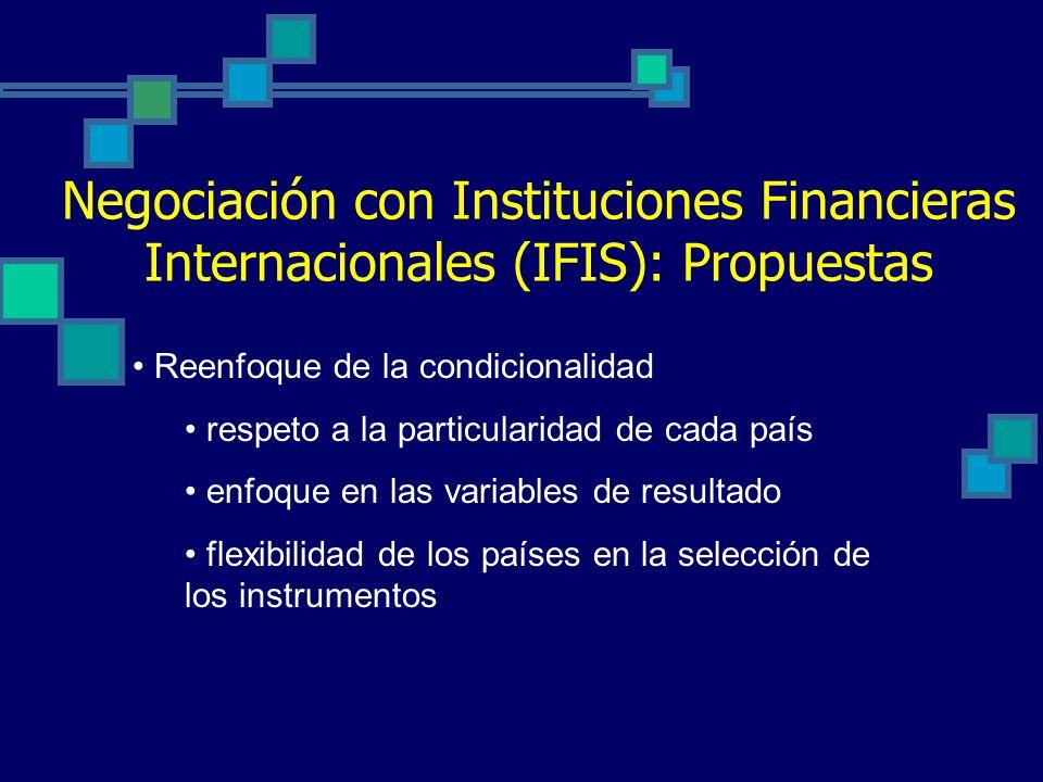 De tales principios, surgen estas dudas … Real compromiso de los países Operacionalización de tales compromisos en Instituciones Agenda sesgada de las