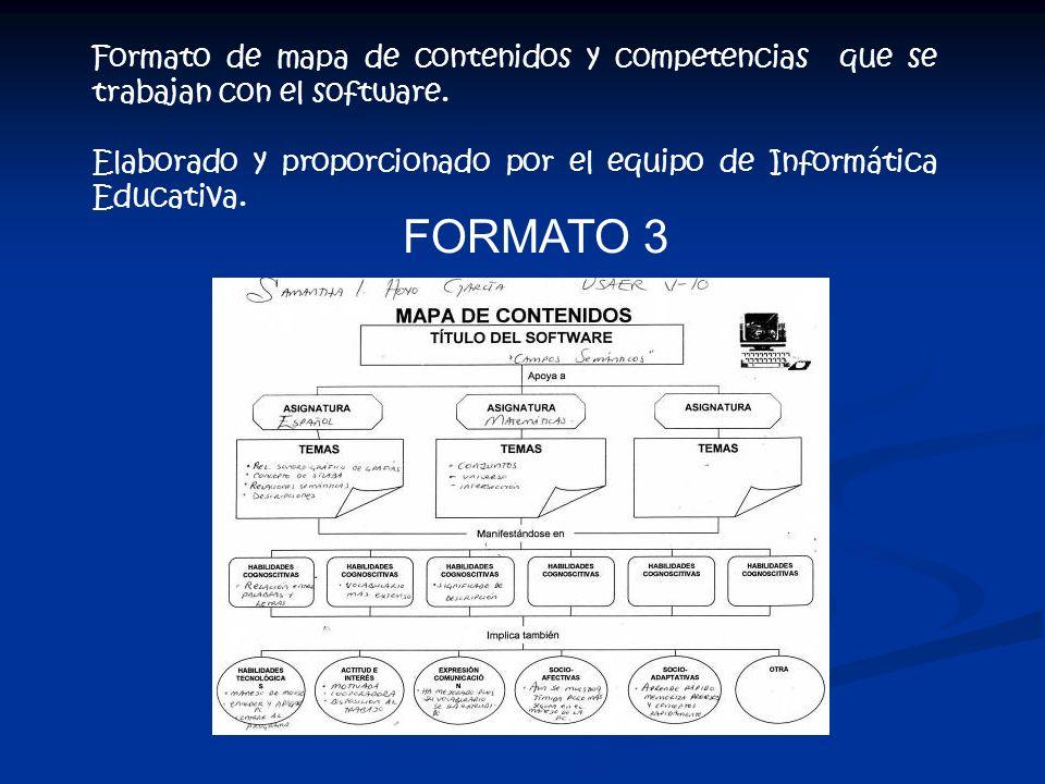 Formato de planeación de actividades. Elaborado y proporcionado por el equipo de Informática Educativa. FORMATO 2