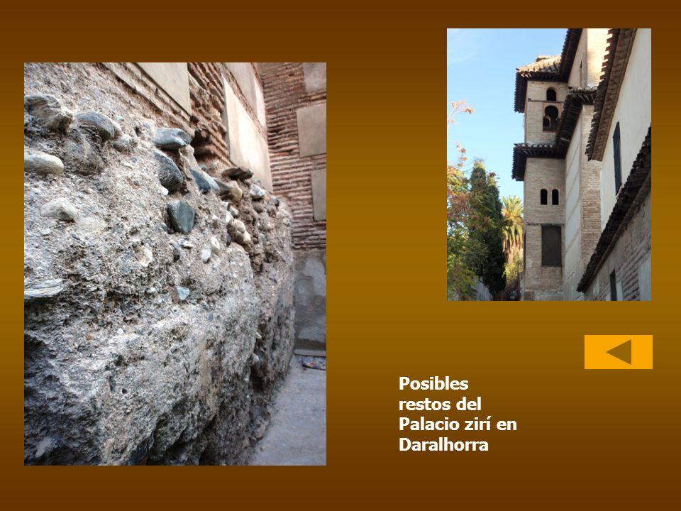 Posibles restos del Palacio zirí en Daralhorra
