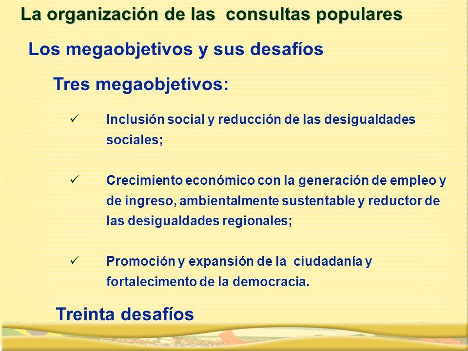Inclusión social y reducción de las desigualdades sociales; Crecimiento económico con la generación de empleo y de ingreso, ambientalmente sustentable
