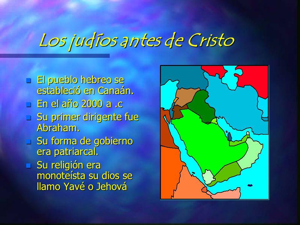 EL PUEBLO JUDIO Y EL CRISTIANISMO n ELABORO n PROFA :MARIA ROSA MURRIETA GABRIEL. n RUBEN OLIVARES RAMIREZ