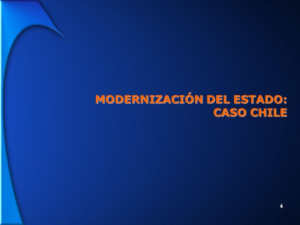 4 MODERNIZACIÓN DEL ESTADO: CASO CHILE