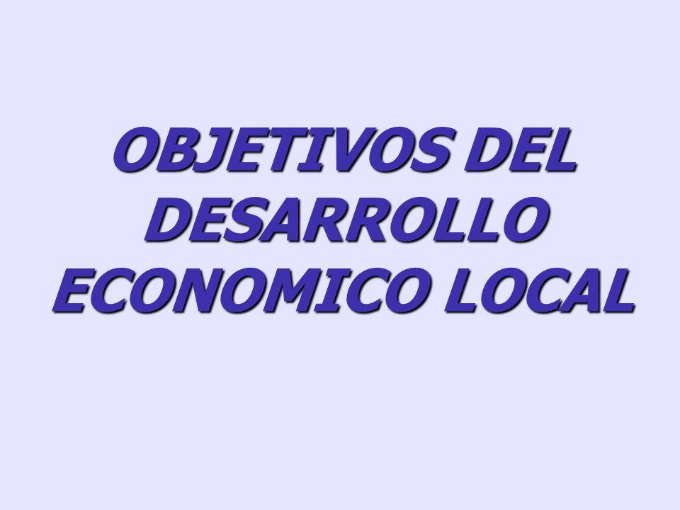 (II) DESARROLLO ECONOMICO LOCAL Y COMPETITIVIDAD TERRITORIAL