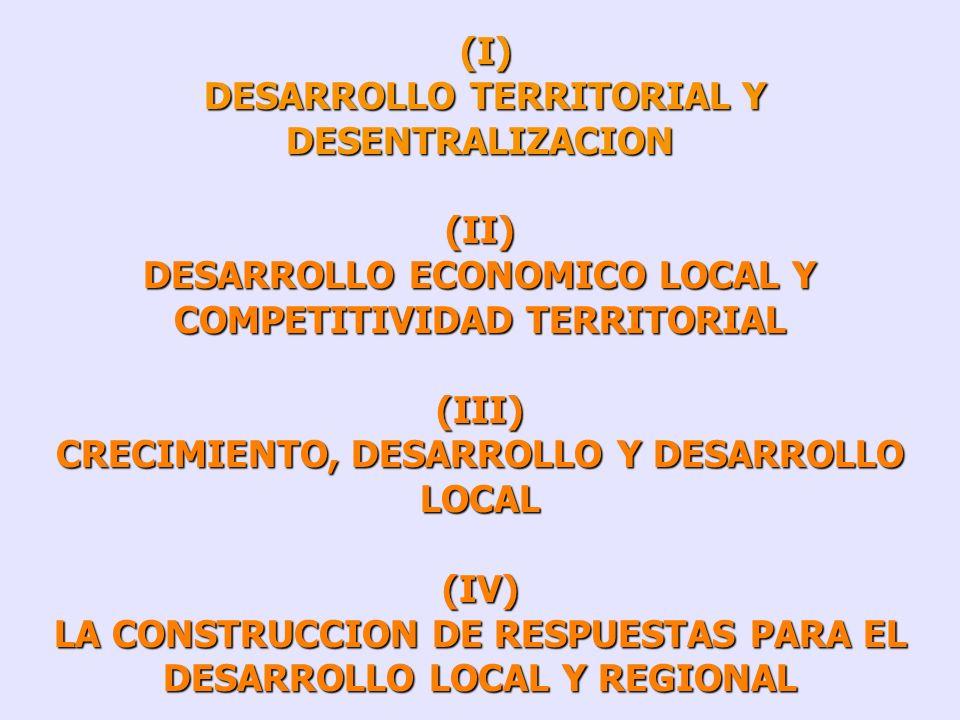 IVAN SILVA LIRA ILPES/CEPAL MARCO CONCEPTUAL DEL DESARROLLO LOCAL Y REGIONAL