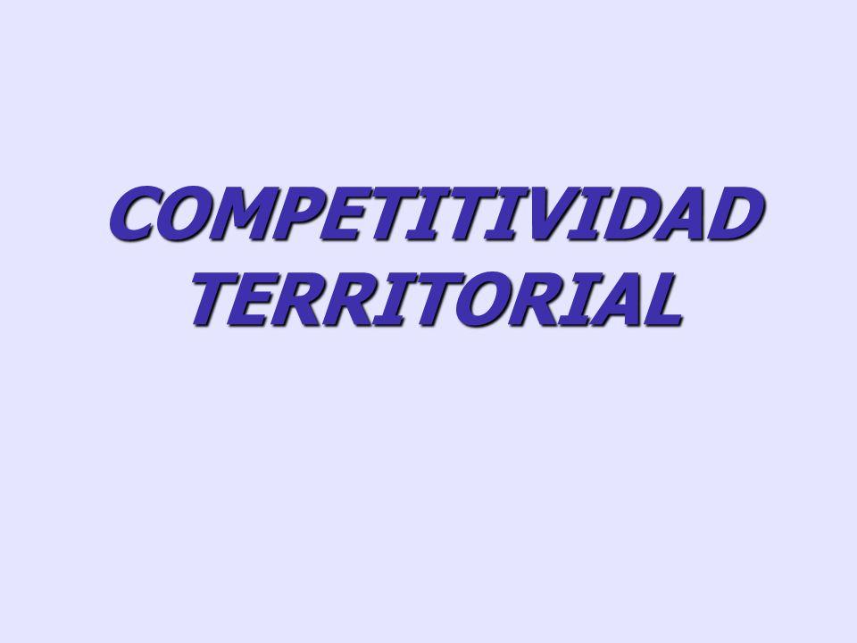 COMPETITIVIDAD SISTEMICA: RESULTADO DEL NIVEL ORGANIZATIVO E INSTITUCIONAL DE LA SOCIEDAD NIVEL MESO: INFRAESTRUCTURA, FFPP ESPECIALIZADOS, RIVALIDAD