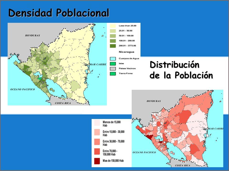 Densidad Poblacional Distribución de la Población