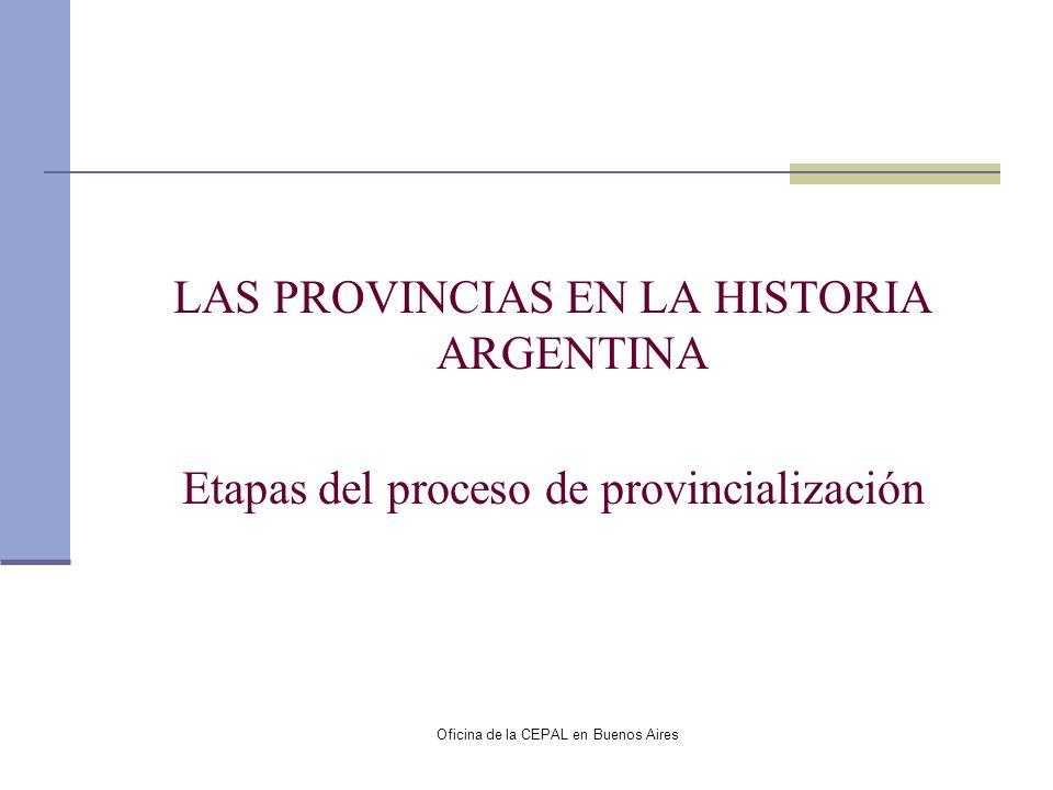 Oficina de la CEPAL en Buenos Aires Distribución del Fondo de ATN Promedio 1989-2001.