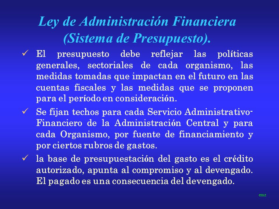MODELO ACTUAL LDO: Elaborado por la oficina nacional de presupuesto hasta 15 de abril.