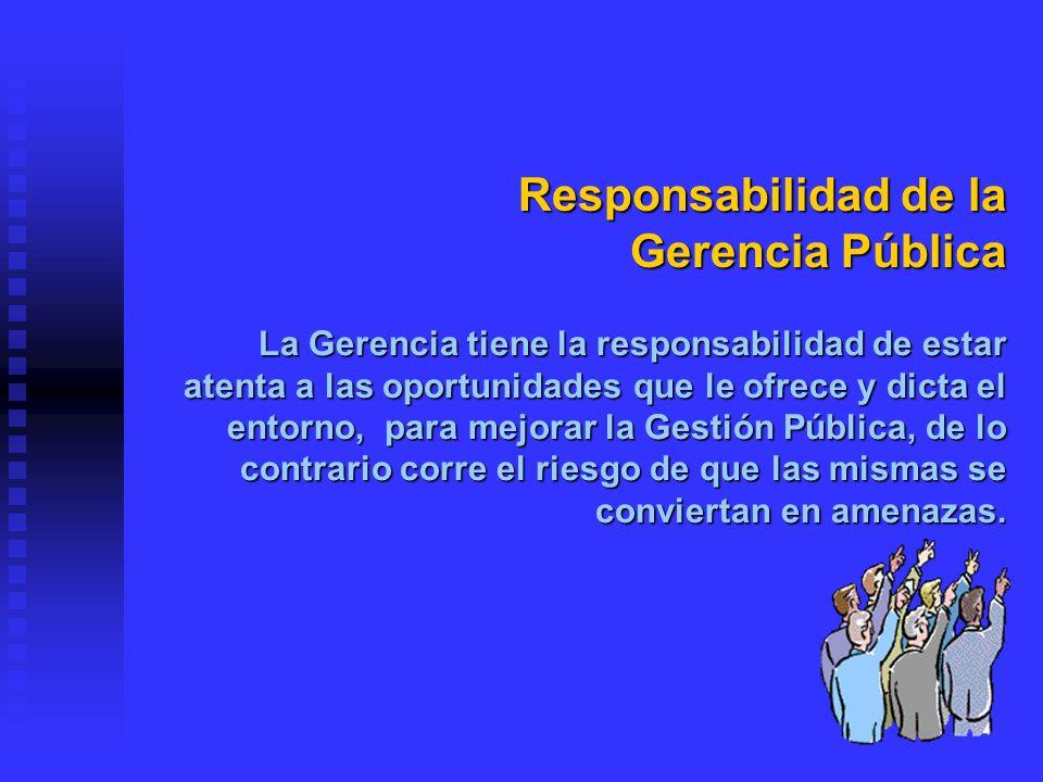 Administración y Gestión: Administración de RRHH: Hay legislación escrita sobre carrera administrativa, pero estas no se aplican.