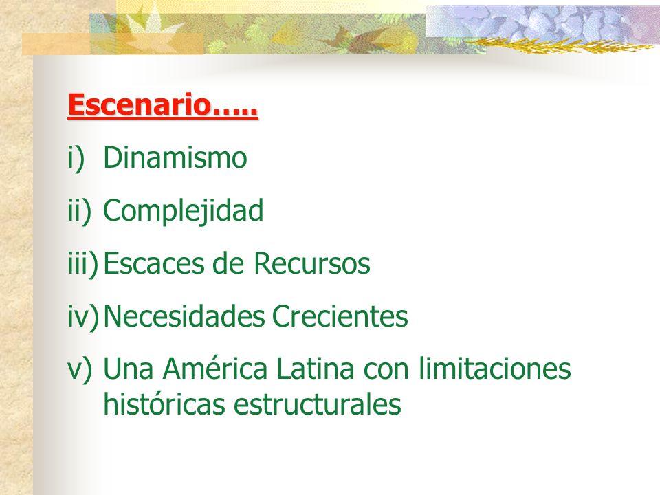 Escenario…..