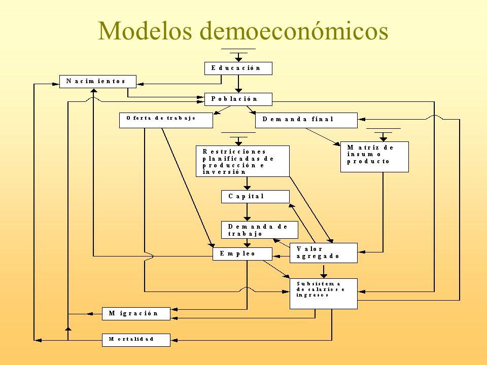 Modelos demoeconómicos