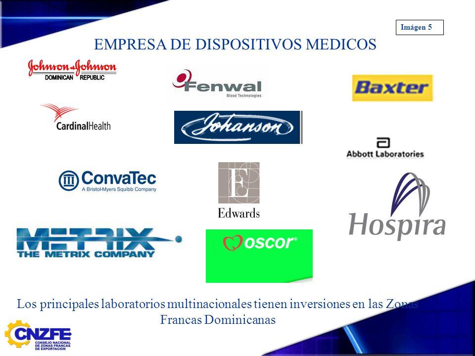 EMPRESA DE DISPOSITIVOS MEDICOS Los principales laboratorios multinacionales tienen inversiones en las Zonas Francas Dominicanas Imágen 5