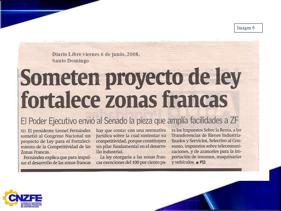 Diario Libre viernes 6 de junio, 2008, Santo Domingo Imágen 6