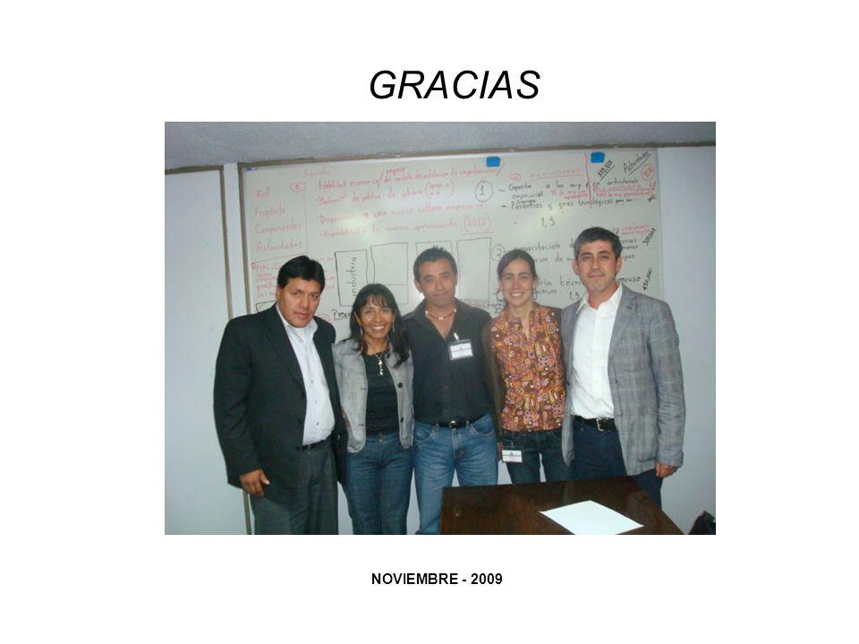 GRACIAS NOVIEMBRE - 2009