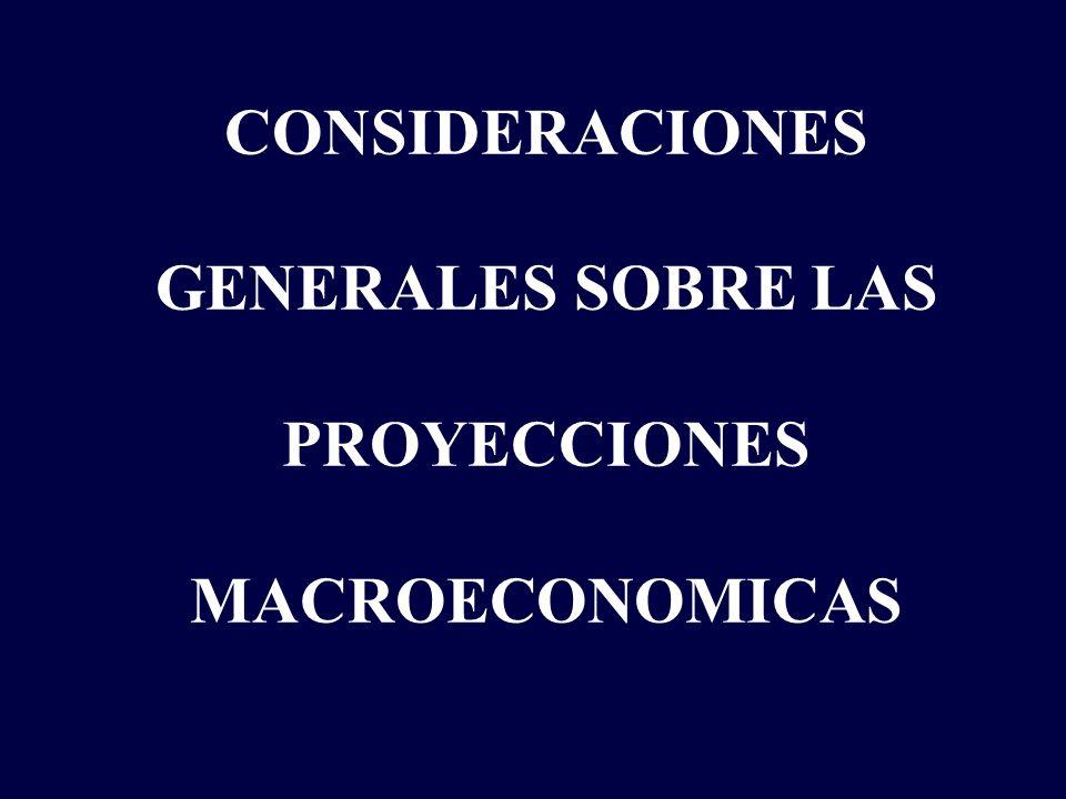 EL ESCENARIO DE PROYECCION.