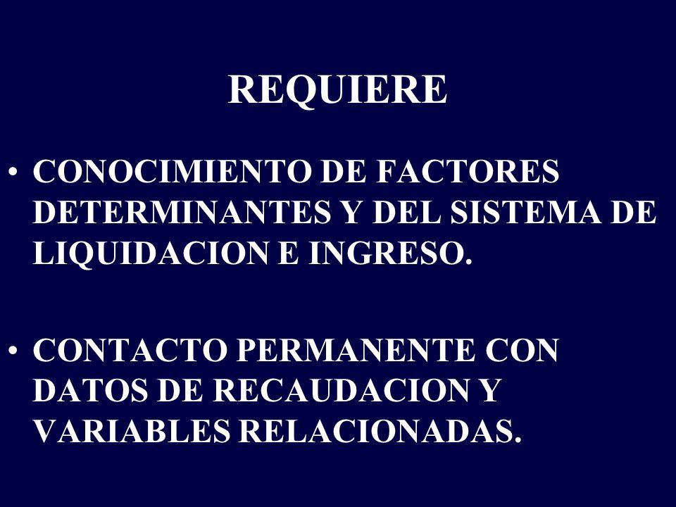 RECOMENDACIONES PARA LA PROYECCION DE INGRESOS TRIBUTARIOS Cautela en la proyección de disminuciones de la tasa de evasión.