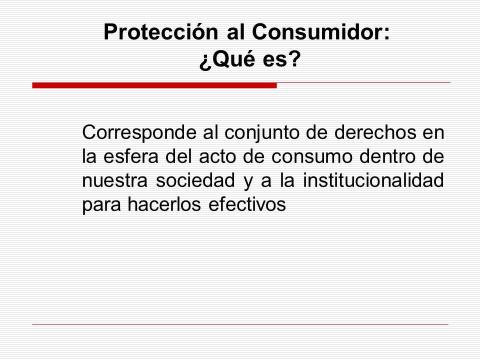 Protección al Consumidor y otros fundamentos 4.