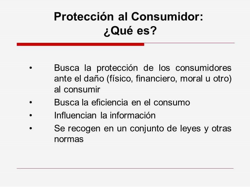 Protección al Consumidor: ¿Qué es.