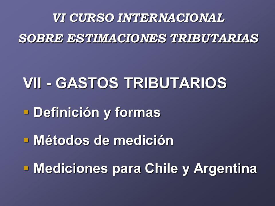 VI CURSO INTERNACIONAL SOBRE ESTIMACIONES TRIBUTARIAS PANEL COMO MEJORAR LAS ESTIMACIONES TRIBUTARIAS