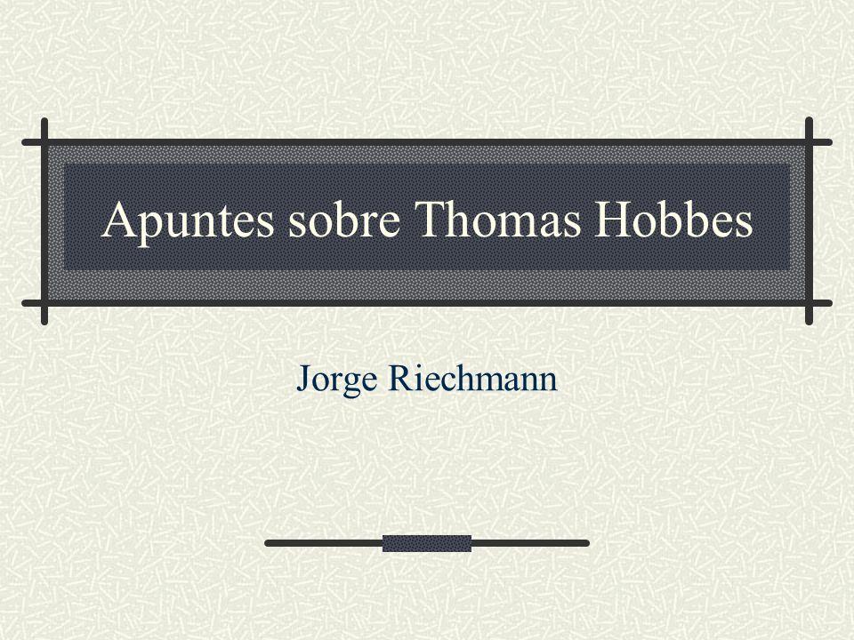12/02/2014Hobbes22 Sobre el materialismo de Hobbes… …escribía Juan Carlos García Borrón: Probablemente el punto de partida teórico de Hobbes se encuentra en su oposición al idealismo cartesiano.