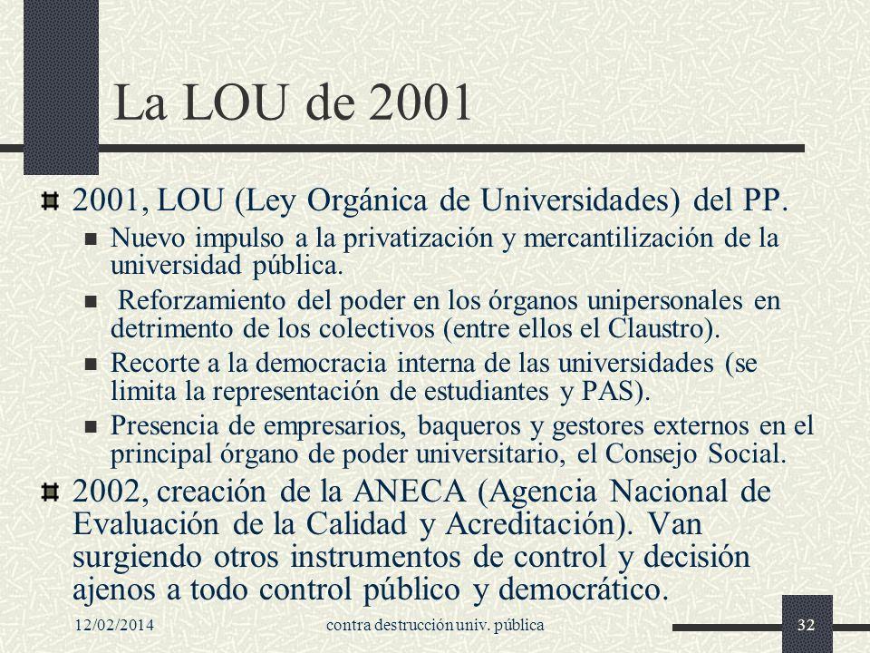 12/02/2014contra destrucción univ.