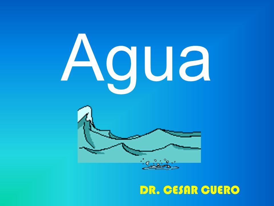 Agua DR. CESAR CUERO