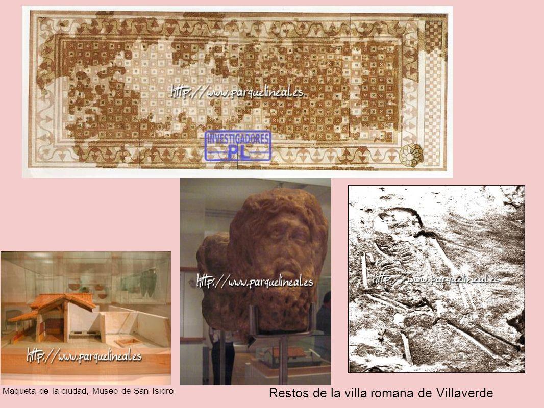 Restos de la villa romana de Villaverde Maqueta de la ciudad, Museo de San Isidro