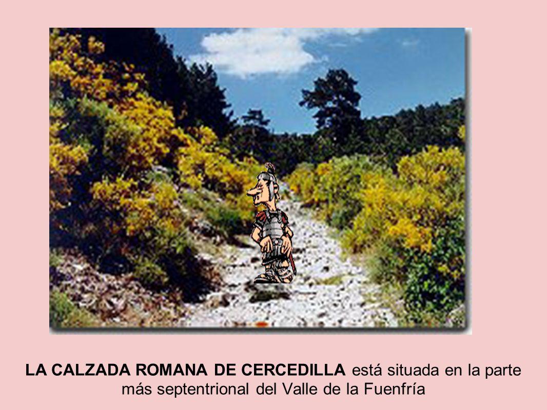 LA CALZADA ROMANA DE CERCEDILLA está situada en la parte más septentrional del Valle de la Fuenfría